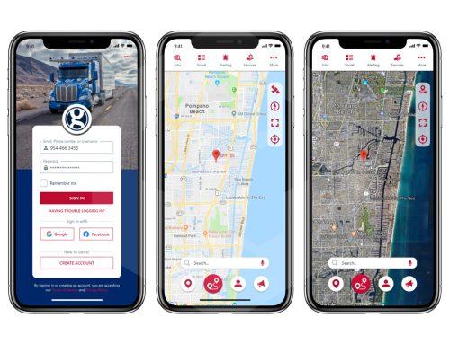 Geira. Trucker app